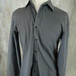 Michael Kors Button Down Long Sleeve Shirt S